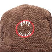 Мужчины Женщины Открытый Earmuff уха Protector Симпатичный мультфильм Hat Акула Дьявол Pattern Bomber Cap