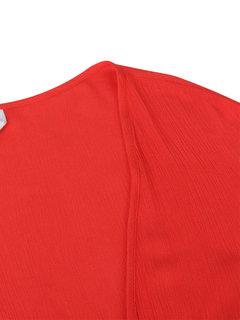 Урожай с длинным рукавом Сыпучие Pure Color хлопка Джемпер для женщин