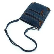 Женщины Ковбой Zipper Причинно плеча сумки Zipper Crossbody Сумки