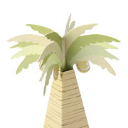 10pcs Artificial Coconut Tree Paper Candy Box Wedding Gift Accessories
