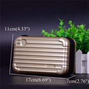 ABS+PC Portable Storage Bag Phone Bags Clutch Bags Wash Bag Comestic Bags For Women