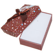 Mixed Color Ribbon Bowknot Jewelry Packaging Box