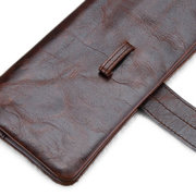 Men Genuine Leather Vintage Business Long Wallet Casual Cards Coins Bags