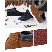 Men Warm Outdoor Ankle Sport Lace Up Boots