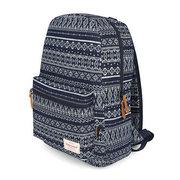 Мужчины и женщины Холст Национальный стиль рюкзак школьный