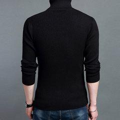 Мужские Зимние Вязание свитер Шерстяной Смешать толстый теплый высокий воротник с длинным рукавом