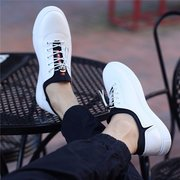 British Style Lace Up Recreational Casual Color Match Shoes
