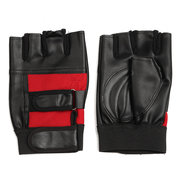 Leather Weight Lifting Gym Fitness Body Building Gloves Training Gloves