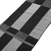 Men Brushed Grid Plaid Soft Casual Scarves Warm Winter Scarf Shawls Wraps