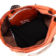 Women Casual Multifunctional  Double-deck Large Capacity Outdoor Travel Handbag Shoulder Bag