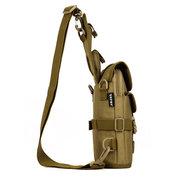 Мужчины Женщины Открытый Тактические сумки на ремне, Двухместн Спорт Туризм Многофункциональный рюкзак