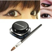 Waterproof Black Makeup Eyeliner Gel Cosmetic With Eye Liner Brush
