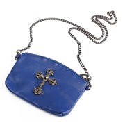 Women Cross Buckle Print Design Casual Elegant Crossbody Bags Leisure Shoulder Bags