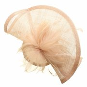 Women Feather Fascinator Cocktail Hat Wedding Kentucky Derby Party Cap