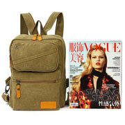 Women men Casual Canvas Large Capacity Travel Sport Hiking Backpack