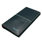 Men Business Casual PU Leather Long Wallet Card Holders Purses