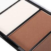 Qianle 4 Colors Eyeshadow Palette Shading Dark Earth Tone Highlighter Makeup Cosmetics
