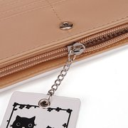 Lovely Cat Lady Fashion PU Leather Clutch Long Wallet