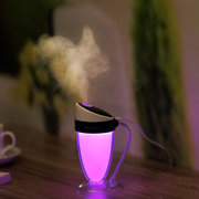 Mini Moonlight Cup Humidifier LED Night Light Atmosphere Household Air Humidifier 4 Colors
