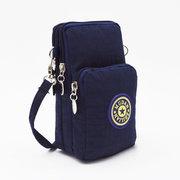 Women Nylon Casual Universal Arm Bag Shoulder Bag 5.5inch Phone Bag For iPhone Samsung Sony Xiaomi