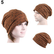 Men Women Hip-Hop Warm Winter Cotton Knit Ski Beanie Skull Cap Hat