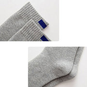 Men Women Winter Cotton Brief Solid 10 Colors Thick Warm Durable Casual Socks