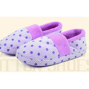 Cute Dot Indoor Warm Non Slip Home Slippers