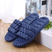 Unisex EVA Pure Color Summer Soft Sole Indoor Home Shoes Slippers