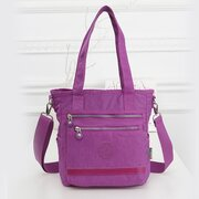 Women Oxford Cloth Crossbody Bag Hit Color Shoulder Bag Sling Bag