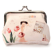 Stylish Vintage Women Mini Cover Change Coin Bag