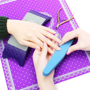 Nail Art Arm Rest Pillow Cushion Holder Lace Table Mat Pad Foldable Washable Mat Set Kit For Manicur