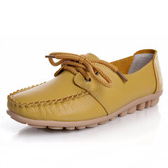 Fashion Leather Casual Shoes Flat Loafers