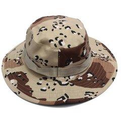 Мужчины Женщины Камуфляж Отдых на природе Альпинизм Охота Cap Военные Зонт Boonie Hat