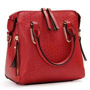 Women Stylish Alligator Pattern PU Leather Handbag Shoulder Bags Crossbody Bags