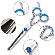 Professional Barber Hair Scissors Cutting & Thinning Shears Comb Hairdressing Set
