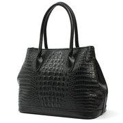 Женщины Кожа Крокодил шаблон Элегантный Crossbody сумка
