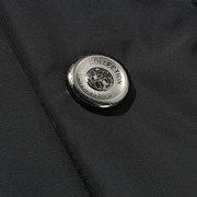 Winter Outdoor  Thicken Warm Shoulder Splices Detachable Hood Padded Jacket For Men