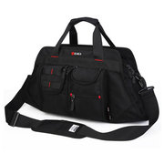 Men Business Casual Multi-Pocket Big Capacity Shoulder Portable Crossbody Bag Handbag