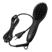 Electric LCD Fast Hair Straightener Comb Brush Anti-Scald Massager Hairstyling Tool 5 Colors