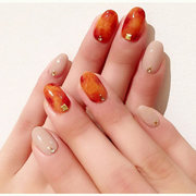 4 Colors/Set Amber UV Gel Polish Nail Art Painting Design Color Gradate Drawing Translucent