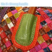 Ladies Stylish Leisure Random Color Weave Handbag Shoulder Bags Crossbody Bags
