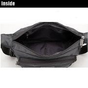 Нейлон Мужчины Повседневная Путешествия сумки на ремне, водонепроницаемый горизонтальный Crossbody сумка