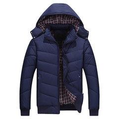 Плюс Размер Winter Casual Открытый сгущает Теплая съемная Куртка с капюшоном для мужчин