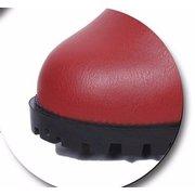 Кожа Высокий каблук Застежка-молния лодыжка чистого цвета Коренастый пятки сапоги