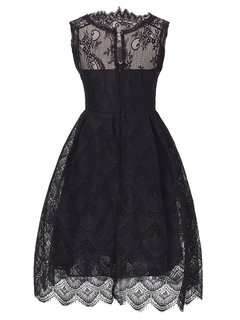 Sexy Lace Sleeveless  Party Ball Gown  Mini Dress