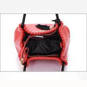 Women Chinese National Style Elegant Pure Color Handbag Crossbody Bag Shoulder Bags