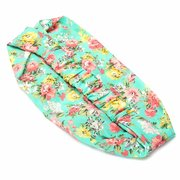 5Pcs/Lot Women Elastic Knotted Headband Ethnic Floral Wide Stretch Yoga Hair Accessories