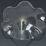 Clear Glass Essential Oil Holder Dish Fragrance Diffuser Lamp Tray Scent