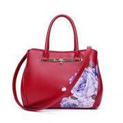 Женщины PU Классический Китайский Стиль Vintage Сумка Tote сумки сумка