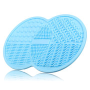 Silicone Brush Cleaner Mat Makeup Brushes Washing Cleaning Tool Cosmetic With Sucker